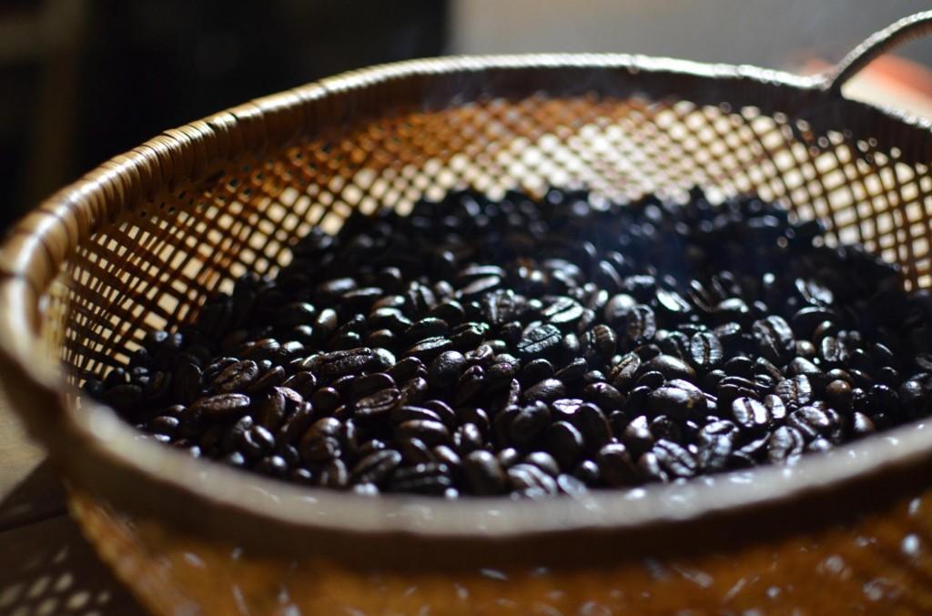 小石原のコーヒーショップ