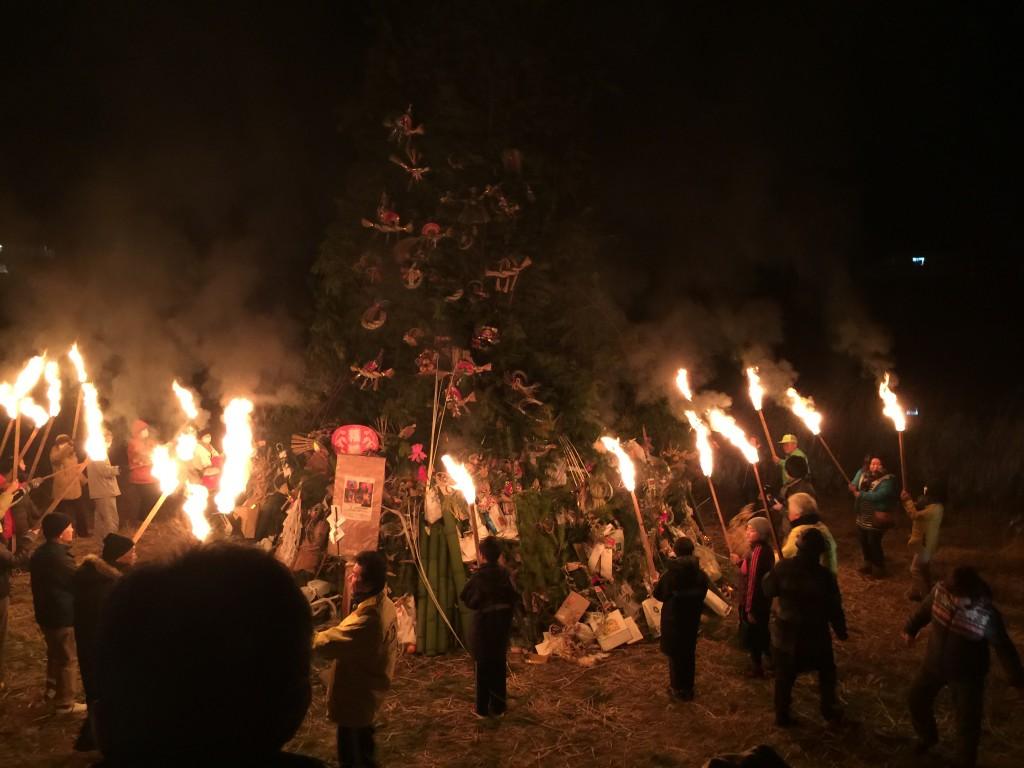 鬼火焚き・どんと焼き・火祭