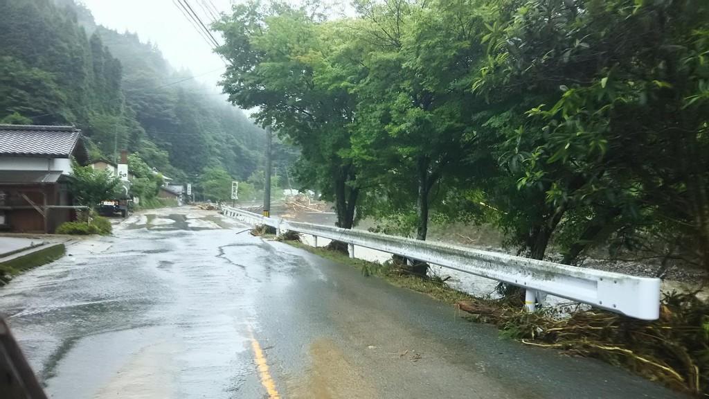 2017年東峰村水害