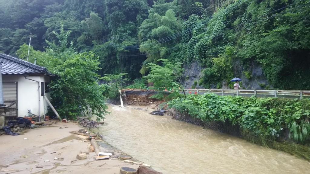 東峰村2017年水害